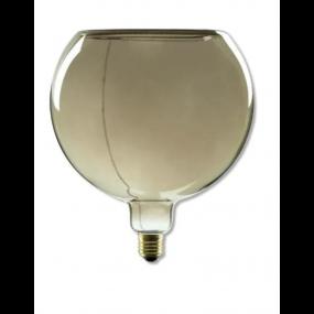 Segula LED lamp - Floating Line - Ø 20 x 18,5 cm - E27 - 8W dimbaar - 2200K - gerookt
