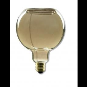 Segula LED lamp - Floating Line - Ø 12,5 x 16,5 cm - E27 - 8W dimbaar - 2000K - gerookt