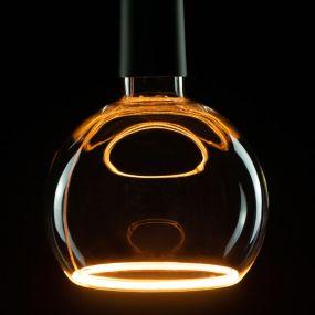 Segula LED lamp - Floating Line - Ø 15 x 18,5 cm - E27 - 8W dimbaar - 2200K - amber