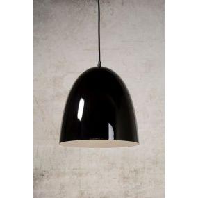 Lucide Loko - hanglamp - Ø 30 x 120 cm - zwart (OP=OP!)
