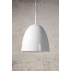 Lucide Loko - hanglamp - Ø 30 x 120 cm - wit (OP=OP!)