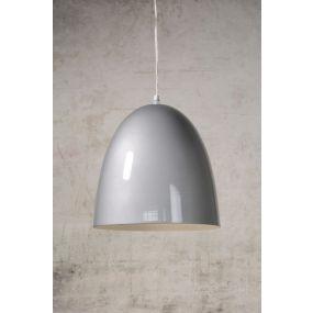 Lucide Loko - hanglamp - Ø 30 x 120 cm - grijs (OP=OP!)