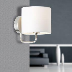 Sindri wandlamp - wit