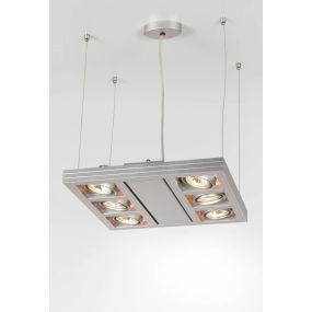 Cool professional hanglamp IV - aluminium