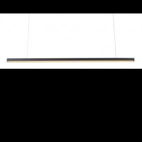 Maxlight Trio - hanglamp - 100 x 150 cm - 12W LED incl. - zwart