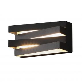 Maxlight Araxa - wandverlichting - 21 x 9 x 10 cm - 12W LED incl. - zwart