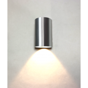 Artdelight Brody - wandlamp - Ø 7,2 x 11 cm - 4W LED incl. - IP54 - aluminium