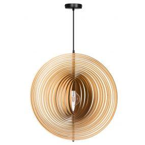 ETH Woody - hanglamp - Ø 61 cm, 153 cm - hout