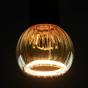 Segula LED lamp - Floating Line Straight - Ø 8 x 10,5 cm - E27 - 5W dimbaar - 2200K - amber