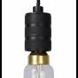 Lucide Jova - Hanglamp - Ø 12 x 4,6 x 140 cm - zwart