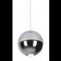 Maxlight Zen - hanglamp - Ø 10 x 150 cm - 4W LED incl. - chroom